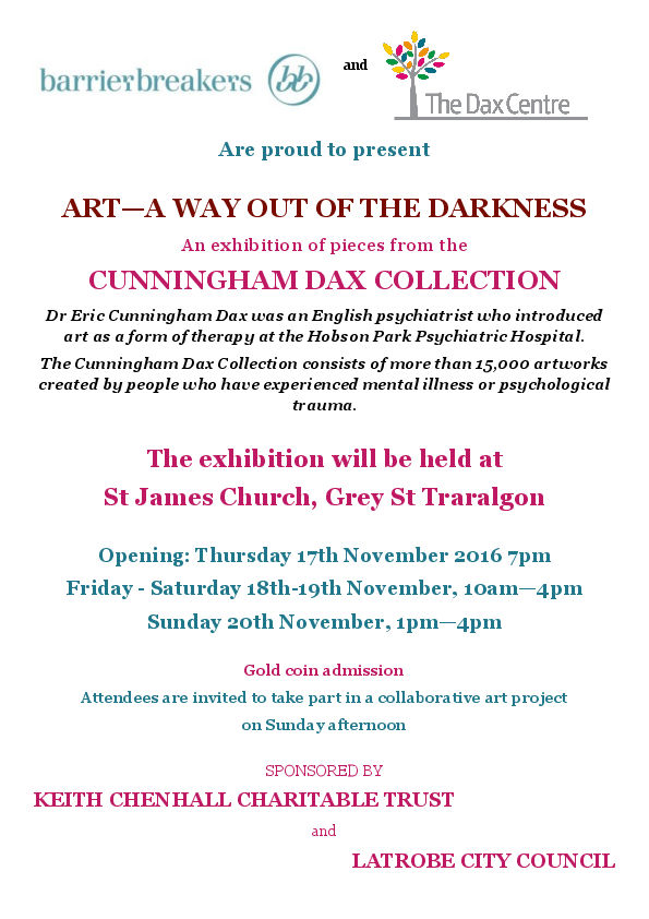 Cunningham Dax Art Exhibition